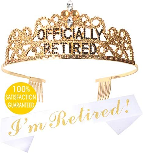Officially Retired Retirement Supplies Retireme