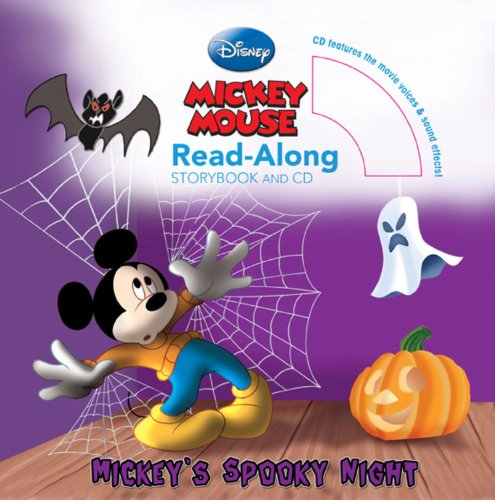 (Mickey's Spooky Night Read-Along Storybook and)