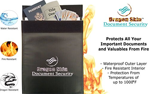 Fireproof Document Bag/Safe / Pouch/Boxes 11.5