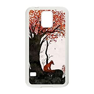 Lycase(TM) FOX Personalized Phone Case, FOX SamSung Galaxy S5 I9600 Cover Case