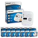 7x Nemaxx Carbon Monoxide Detector CO Alarm Sensor Warning with 7 Year Battery