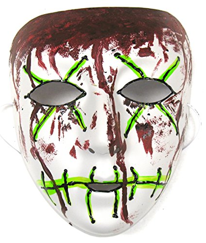 Success Creations Stitch Similar Purge Scary Masquerade Mask Men -