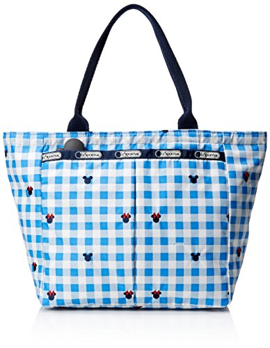 - LeSportsac Small Everygirl Tote Handbag, Checks and Bows