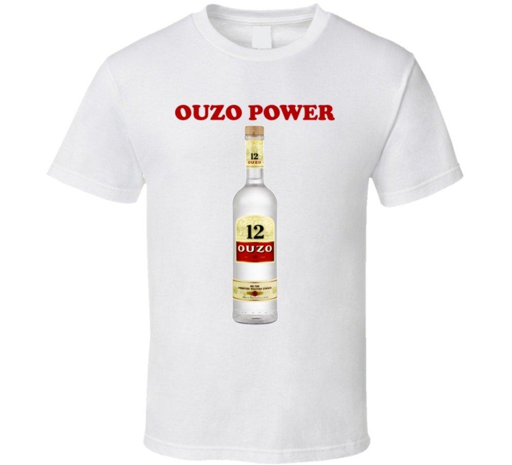 Ouzo Power Drinking T Shirt