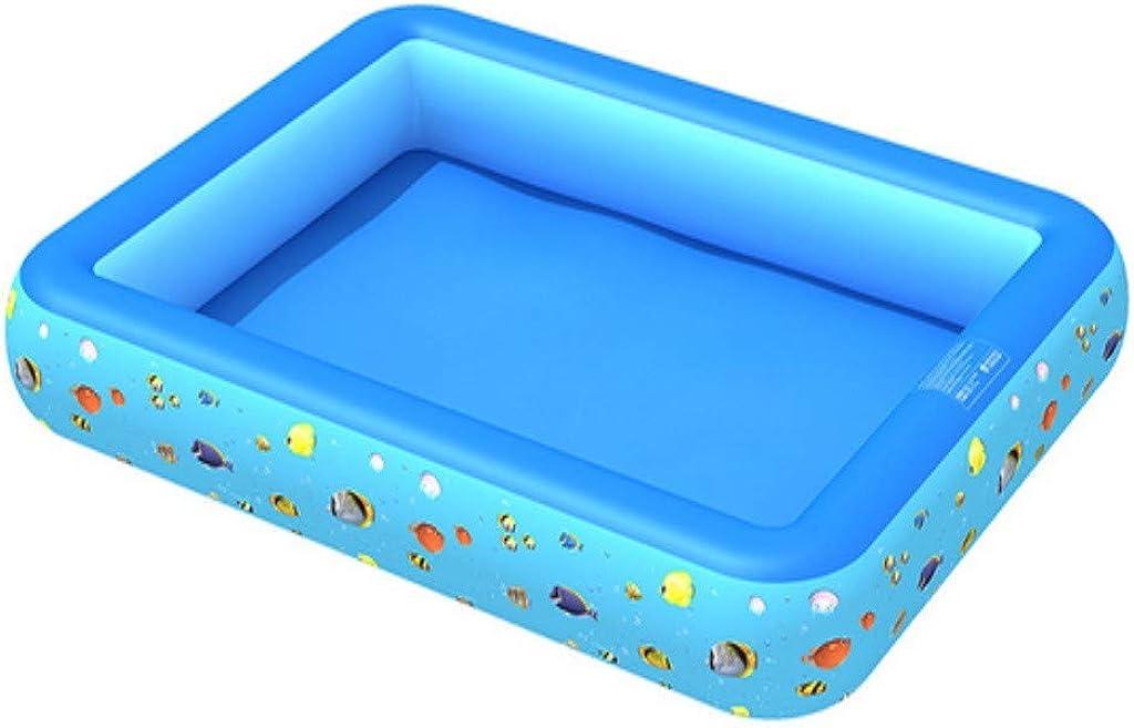 Fiosoji Piscina Infantil Piscina Inflable - Tamaño Múltiple Fondo Grueso Seguro Duradero Y Grueso para Bebés Al Aire Libre para Bebés Piscina para Pescar Salpicaduras