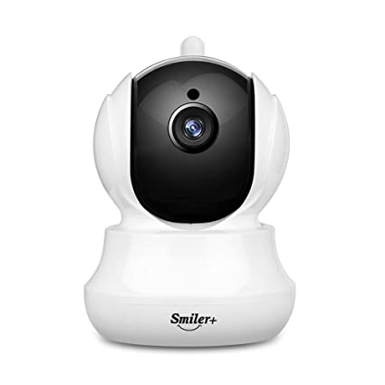 Wifi Cámara IP, smiler + 720p HD Wireless WiFi Vigilancia Home y Baby Monitor con