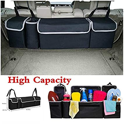 Multi-use High Capacity Oxford Car Seat Back Organizers For Interior Accessories