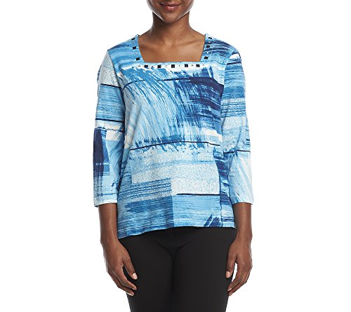 Alfred Dunner Petite Blouse (Alfred Dunner Petites' boxes Top Petite Large)