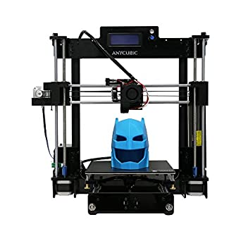 "Anycubic Upgraded DIY Prusa i3 3D Printer Kits with UltraBase Heatbed High Accuracy Larger Print Size 8.27""X8.27""X9.84"""
