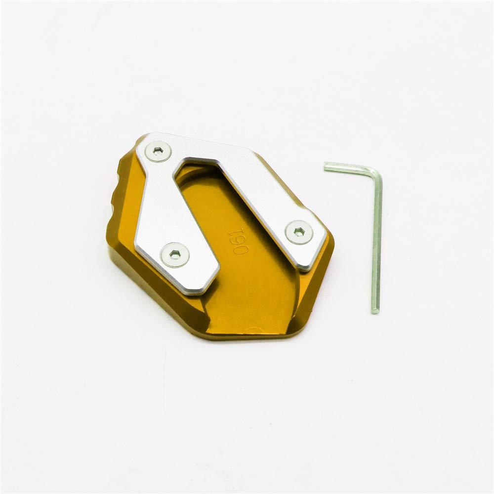 RONSHIN Accesorios para Veh/ículos Soporte lateral profesional modificado para motocicleta para YAMAHA MT-07 XSR700 black