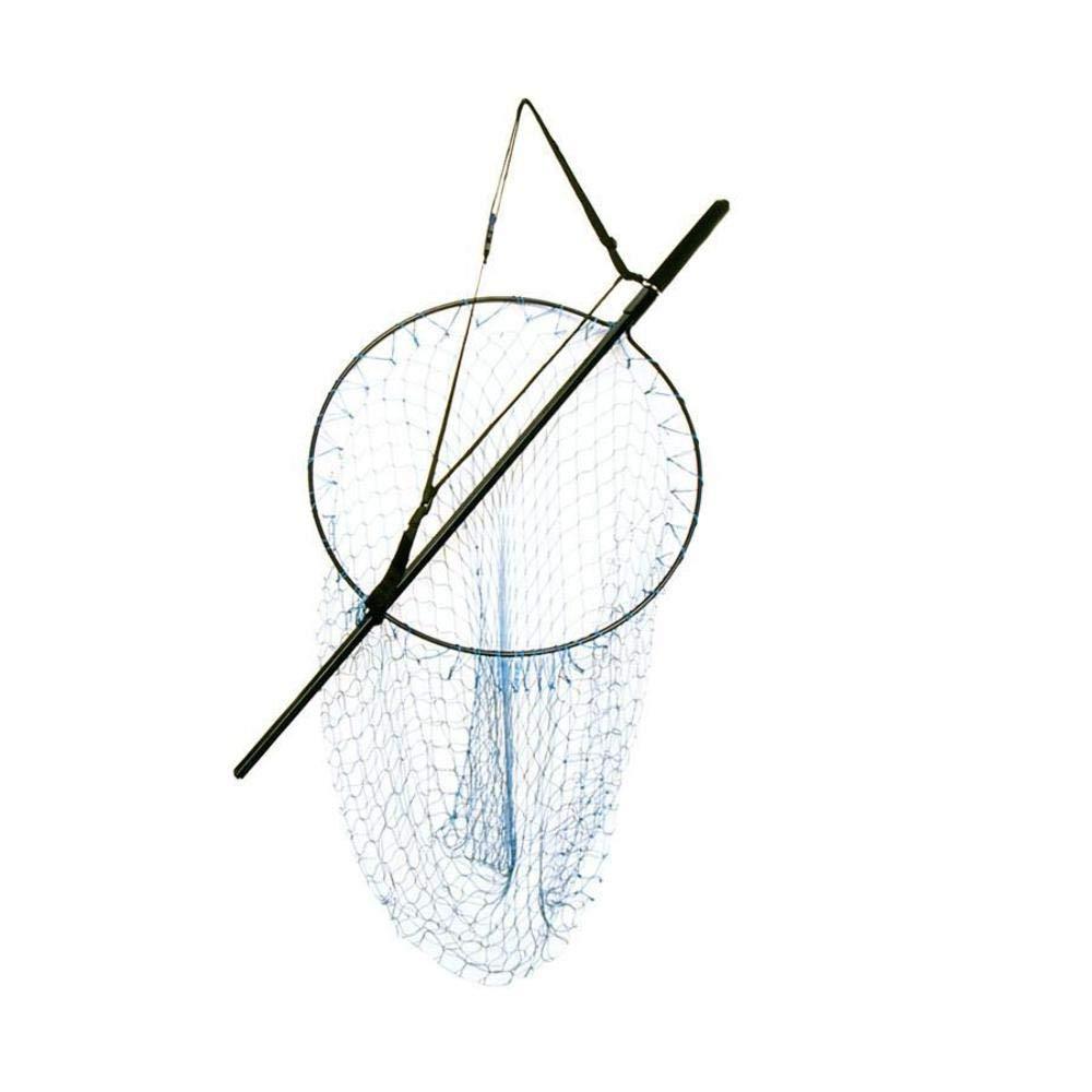 Snowbee Lightweight Alloy Traditional Style Salmon Gye Net One Size Black