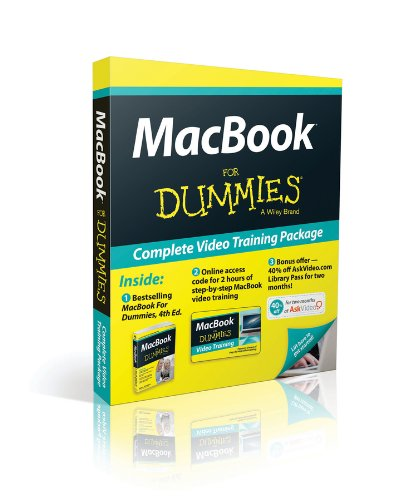 Price comparison product image MacBook For Dummies, 4th Edition, Book + Online Video Training Bundle