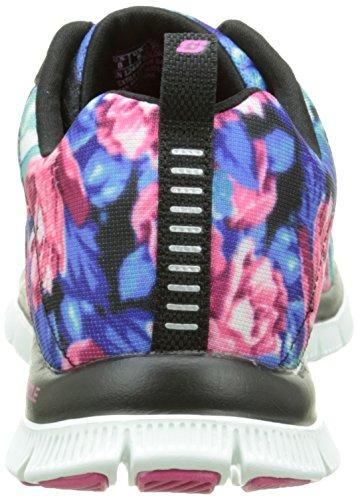 Skechersflex Mujer nbsp;wildflowers Appeal Zapatillas Negro vv4qx8S