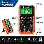 Distianert Soldering Iron Kit 19PCS, Welding Tools 60W LCD Screen, Adjustable Temperature with Digital Multimeter, Stand…