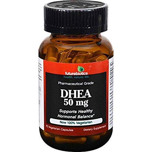 Futurebiotics - DHEA 50 mg - 75 Vegetarian Capsules