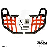 Suzuki LTZ 400 QUADSPORT Z (2004-2008) Standard Nerf Bars Black w/ Red Net