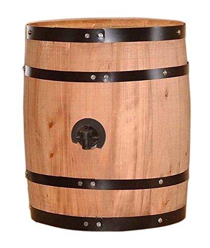 【オークバレル樽】ボックスワインサーバー縦型1個用(BS-05) B005X1WFWC