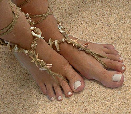 610dc9389970 Beach Barefoot Sandals