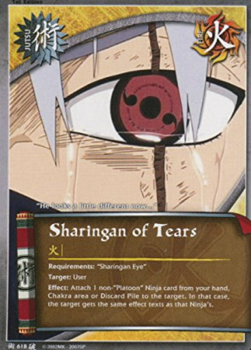 Naruto Card - Sharingan of Tears 618 - Broken Promise - Common - 1st ()