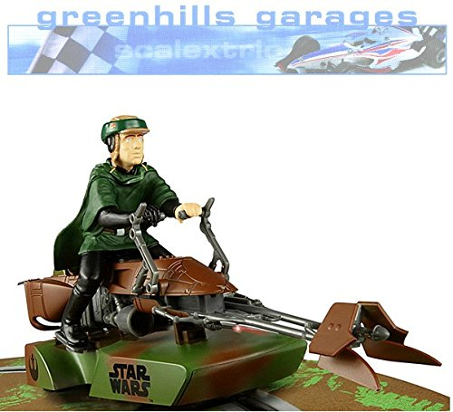 Scalextric 1:32 Star Wars 74-Z Speeder Bike - Luke Skywalker (C3298) -