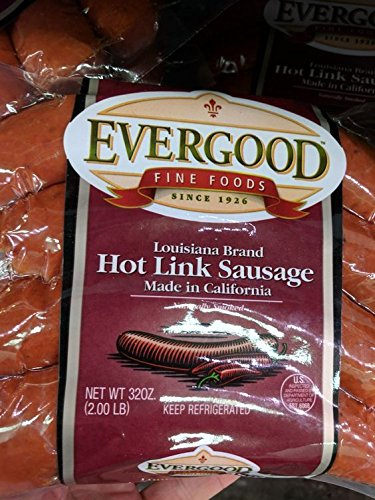 Evergood Hot Link Sausage 2 Lb (2 ()