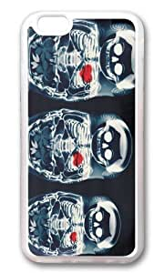 Apple Iphone 6 Case,WENJORS Adorable Nesting Doll X Ray Soft Case Protective Shell Cell Phone Cover For Apple Iphone 6 (4.7 Inch) - TPU Transparent