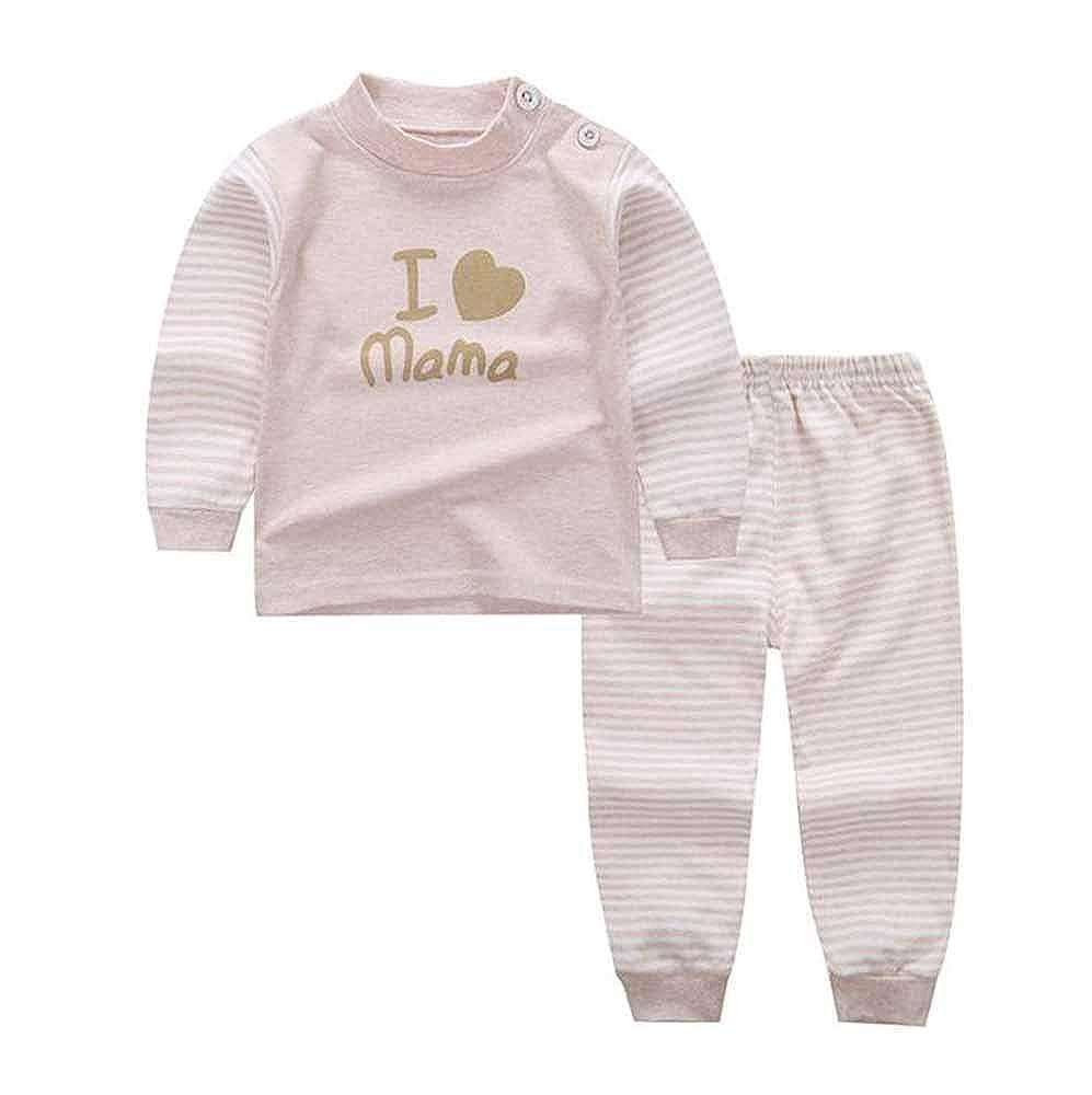 huateng Newborn Baby Suit Boys Girls Pajamas
