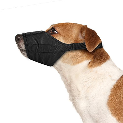 Dog Bark Muzzle - Weebo Pets Breathable Nylon Cloth Safety Muzzle (XS)