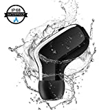 Waterproof IPX7 Wireless Earbud, V4.2 Mini Bluetooth Earbud, Car Bluetooth Headset Invisible Headphone with Mic, 6-Hr Playing Time Cell Phone Bluetooth Earpiece for iPhone Samsung Android (One Pcs)