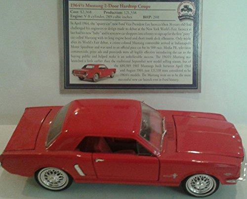 1964 1/2 Ford Mustang 2 Door Hardtop Coupe 1/32