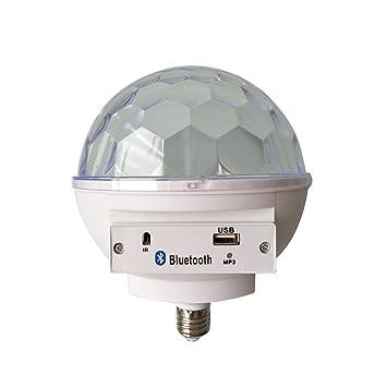 Majome Bombilla LED para Altavoz con Bluetooth, USB, Portátil, RGB, para Fiesta, casa, Dormitorio: Amazon.es: Deportes y aire libre
