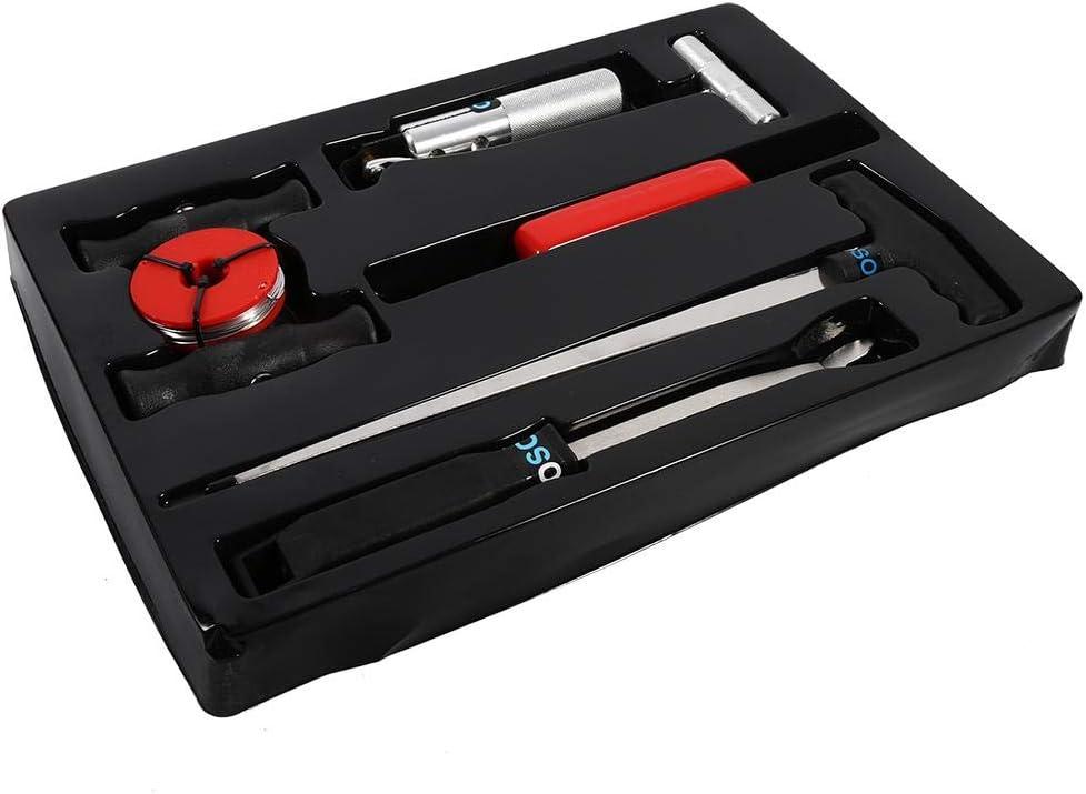 GOTOTOP 7 Pezzi Parabrezza Kit di Riparazione Strumento ha Kit Professionale Finestra Vetro Remover Parabrezza rimozione smontaggio Tool Set