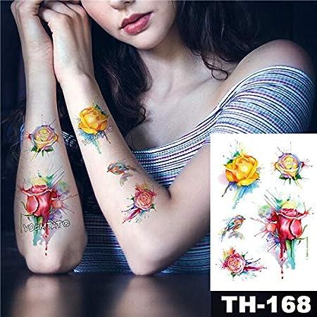 Yyoutop Impermeable e Tatuaje Pegatina Reloj de Bolsillo Reloj de ...