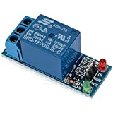 Robodo Electronics 1C12VRELAY 1 Channel 12V Low Level Trigger Relay Module for Arduino