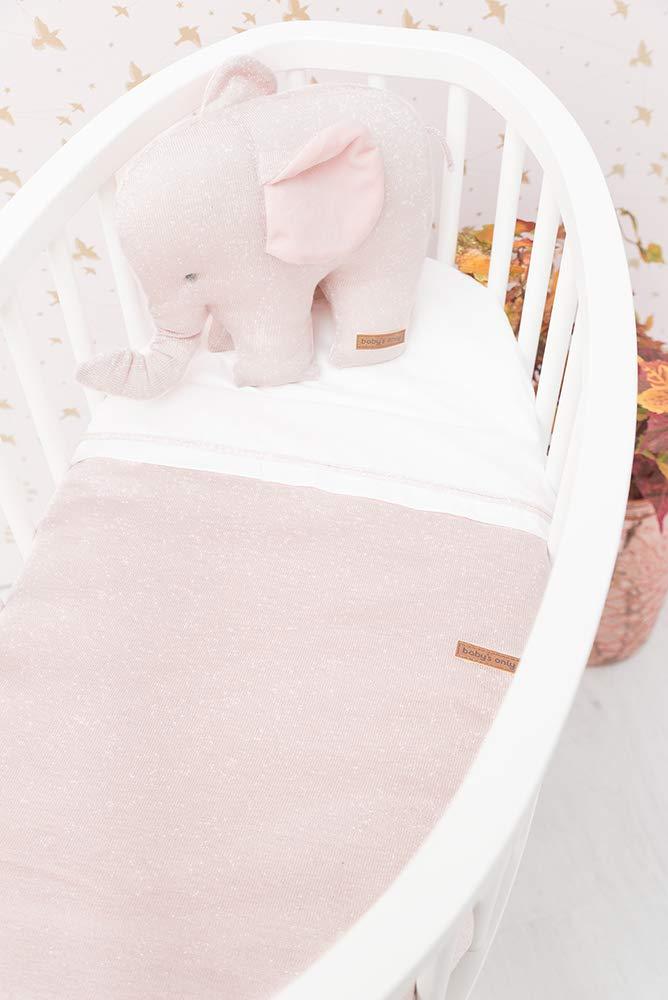Babys Only 0453171 Baby Bettlaken silber-rosa melee//wei/ß