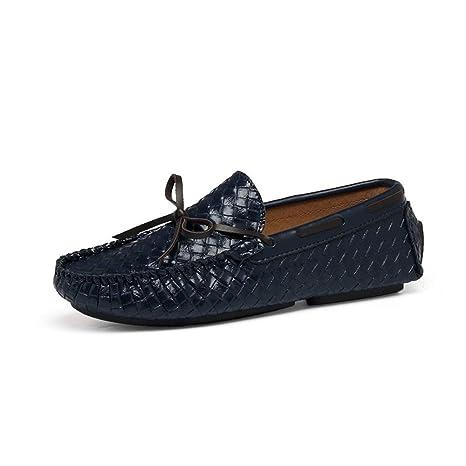 Dundun-shoes, Zapatos para Hombre Mocasines, Slip-on Penny ...