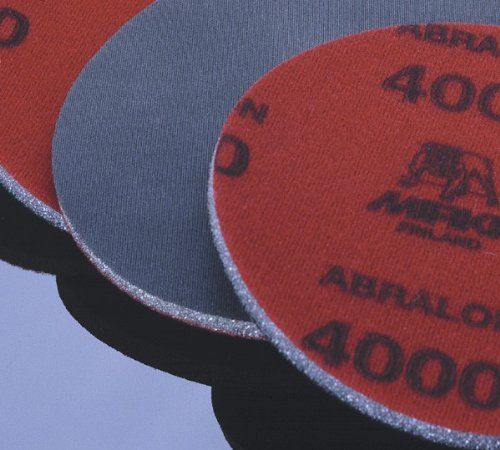8A-241-AP, Mirka Abralon 6 in. Foam Grip Disc, 2 ea 180, 360, 500, 1000, 2000, 4000 (Foam 2000)