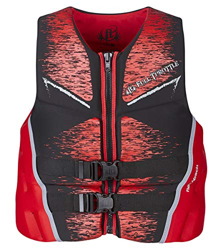 b45dd828372 KENT Sporting Goods Co 142500-100-040-19 Full Throttle Life Vest Mens Large  Red