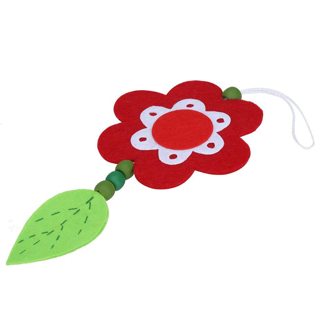 Easter Ornaments Flower Pendant Petal Pendant Home Hanging Decorations