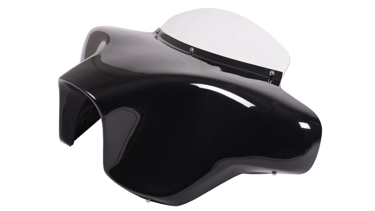 Vector Batwing Fairings F3-2 Yamaha Road Star 1600/1700 fiberglass batwing fairing with 2x6''x9'' speaker cutouts