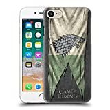 Official HBO Game Of Thrones Stark Sigil Flags Hard Back Case for Apple iPhone 7