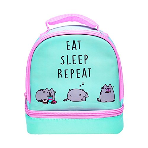 Pusheen Two Compartment Lunch Bag (Cat Lunch Bag)