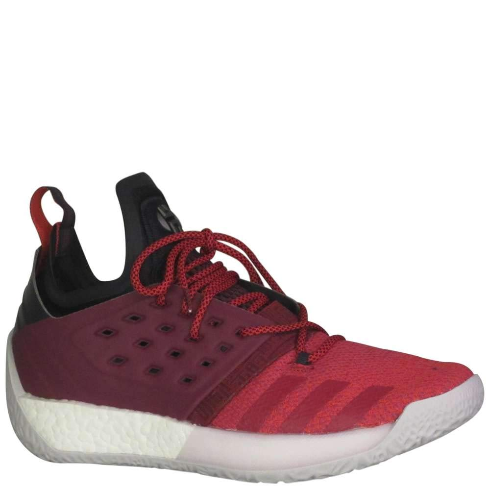 adidas Men's Harden Vol 2 Basketball Shoe Red/White Size 13 M US