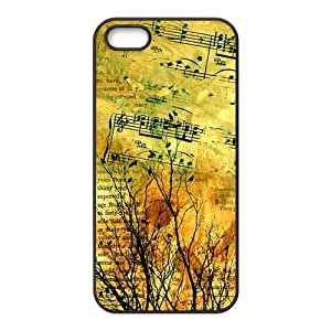Artistic aesthetic music and tree fashion phone case for iPhone 5s wangjiang maoyi