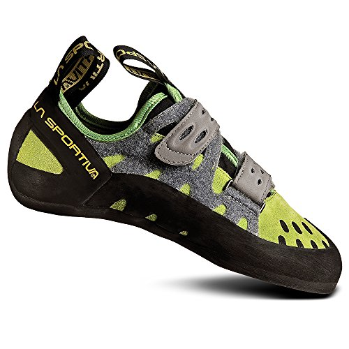 La Sportiva Women's Tarantula Climbing Shoes Green 39.5, Unisex Adult, Green/Grey, 46 EU