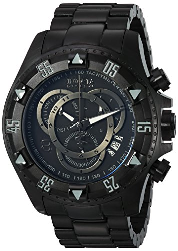 - Invicta Men's 6474 Reserve Collection Excursion Chronograph Black Ion-Plated Watch