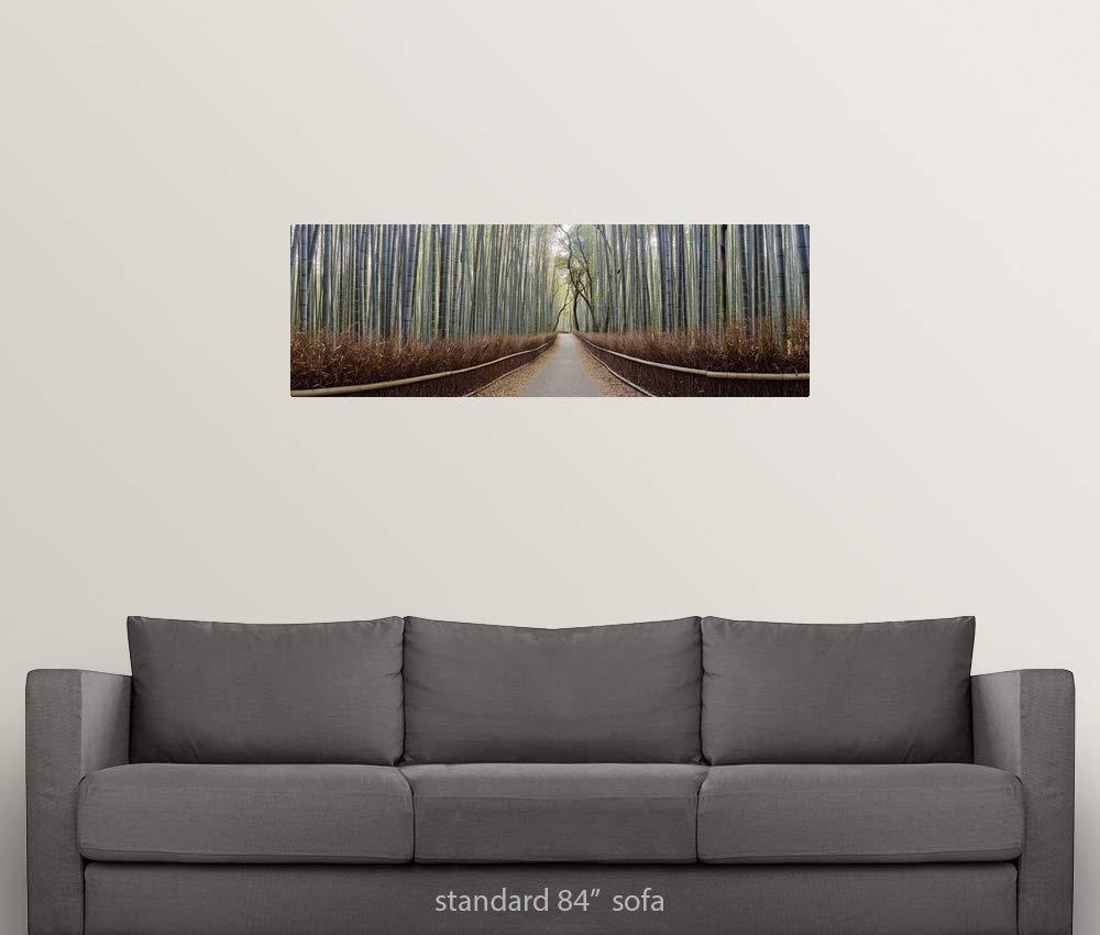Amazon.com: GREATBIGCANVAS Poster Print Entitled Bamboo ...