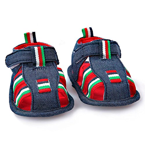 Zapatos bebé SMARTLADY Sandalias Zapatillas antideslizantes suaves para niños pequeños Azul