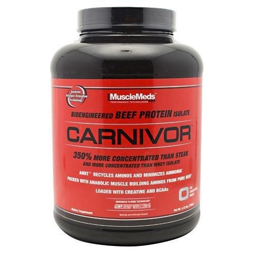 Muscle Meds Carnivor Cherry Vanilla 4lb