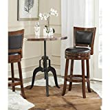 Cheap Safavieh Home Collection Lazzaro Walnut 29-inch Bar Stool